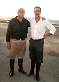 My teacher Vangelis Marentakis and I
